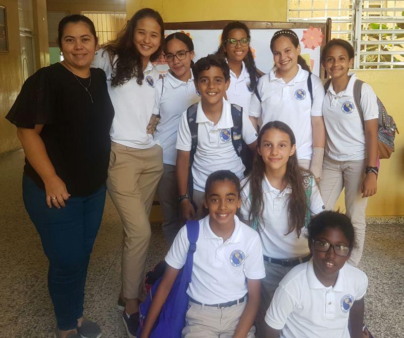 Estudiantes de ISSD participan en Olimpíadas de Lectura y Ortografía a nivel distrital